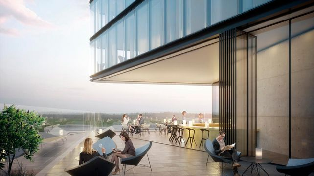 "Porsche plant ""Design Tower"" mit Hotel in Stuttgart"