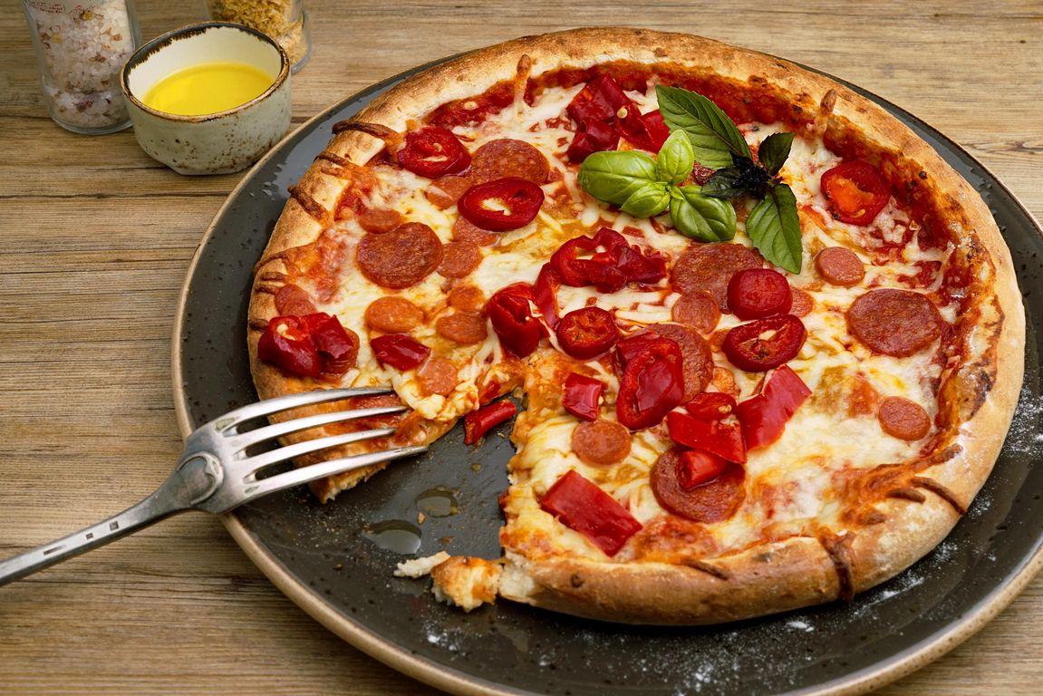 die mehrzahl von pizza