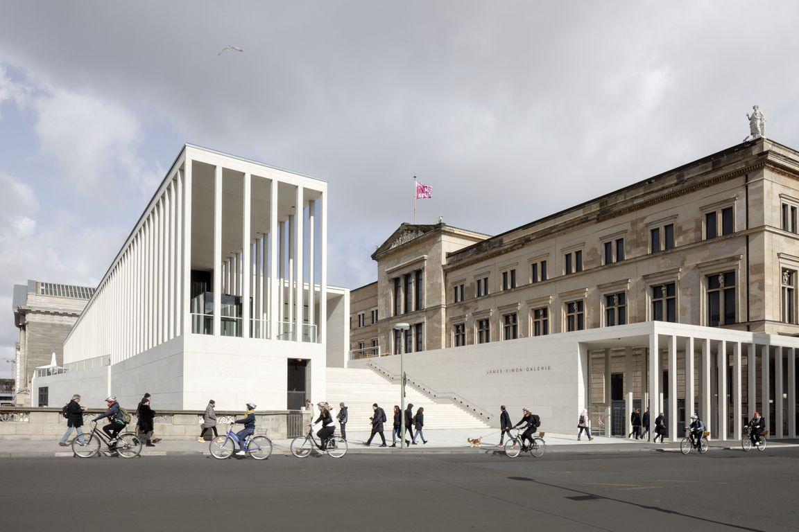 James Simon Galerie Lockt Besucher Auf Berliner Museumsinsel Tageskarte