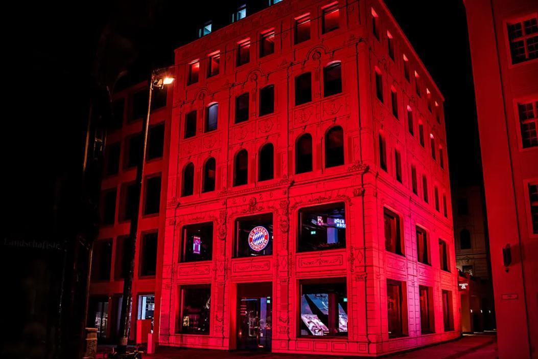 Fc Bayern Eroffnet Fanshop Mit Hotel Und Restaurants In Munchen Tageskarte