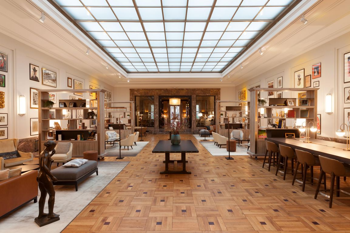 Interior Design Des Hotel Elephant Weimar Holt International Hotel Property Award 2019 Tageskarte
