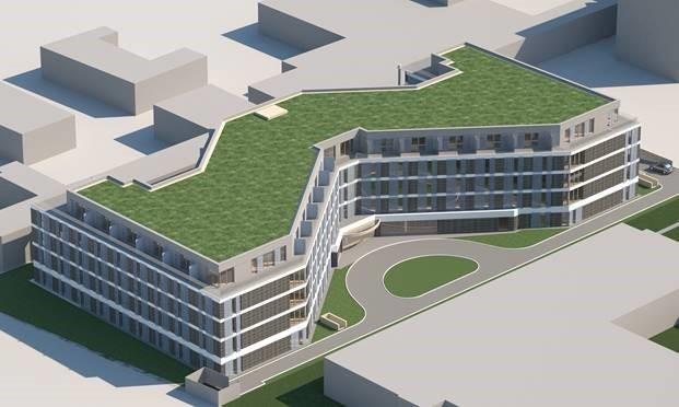 """d2ca5ac3719075 """"MYHATTAN""""  200 Serviced Apartments in für 60 Millionen Euro in Frankfurter  Innenstadt geplant"""